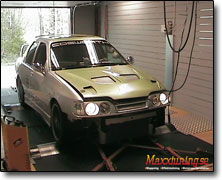 Mappning Ford Sierra Cosworth - Orginal ECU