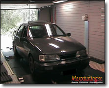 Effektmätning Ford Sierra Cosworth - Orginal ECU