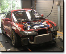 Mappning Nissan S15 Apexi Power Fc