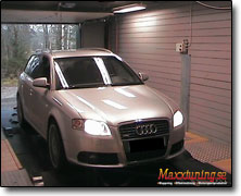 Chipptrimning Audi A4 - Orginal ECU